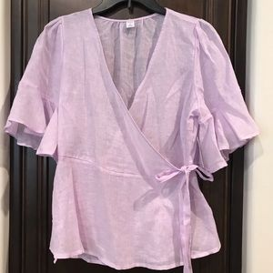 Old Navy Lilac Blouse